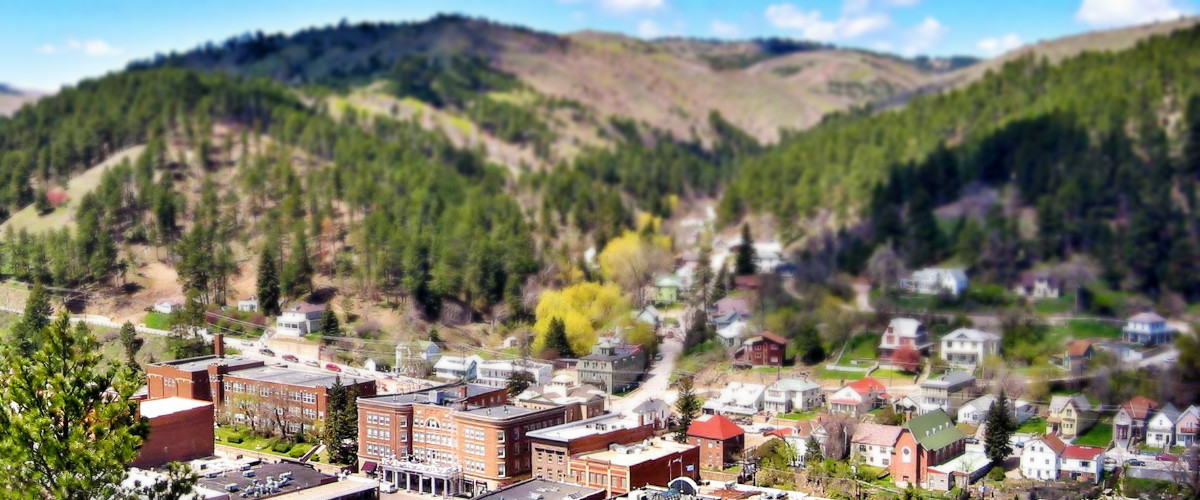 Deadwood's historic Main Street looks much as it did in the 1920s.